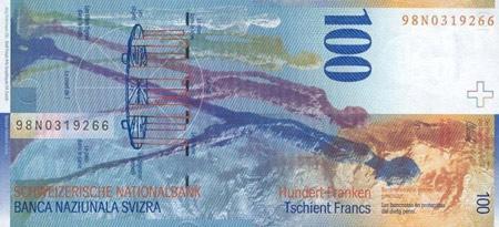 100 швейцарських франків
