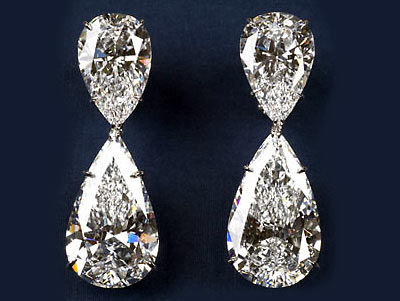 Harry Winston Diamond drops