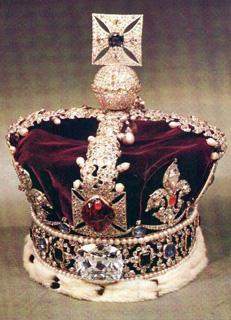 Діамант Кулінан 2, Британська корона