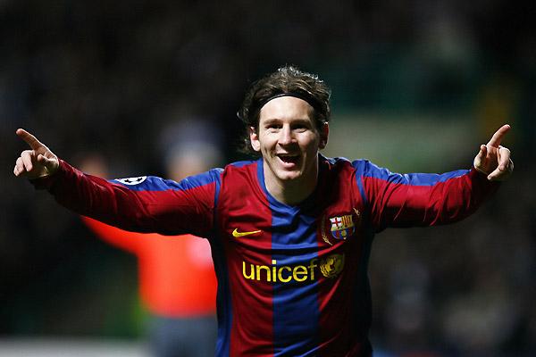 Ліонель Мессі Барселона