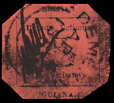 """почтова марка """"Британська Гвіана"""""""