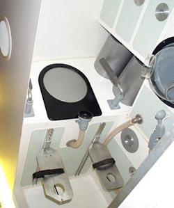 унітаз для космонавтів NASA