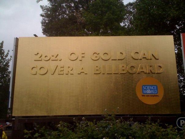 золотий білборд