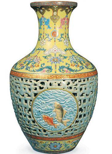 китайська порцелянова ваза