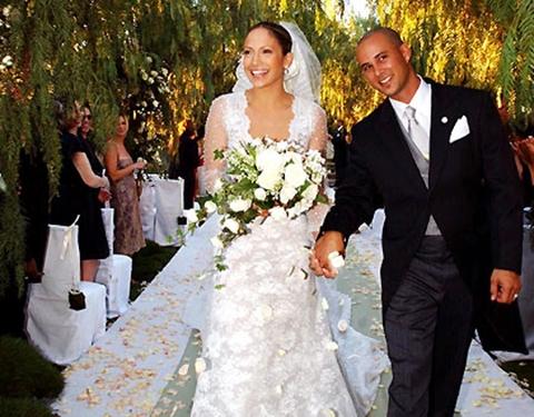 весільна сукня Дженіфер Лопез