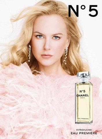 Ніколь Кідман в рекламі парфумів Шанель №5