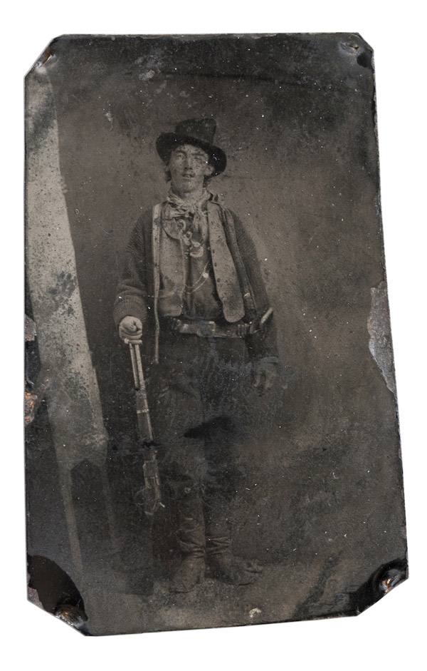 Автор — невідомий. Біллі Кід (1879-80 ) — 2 300 000 $
